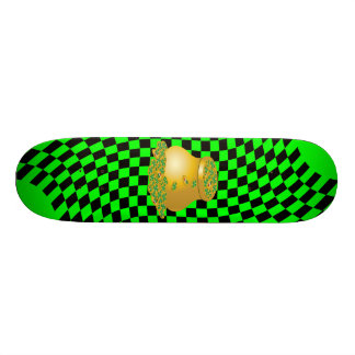 Pot of gold skateboard deck