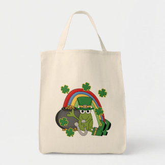 Pot of Gold with Frog Tshirts and Gifts Tote Bag