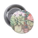 Pot Plant Art Pin