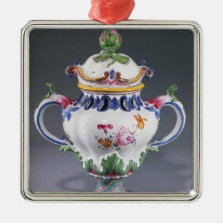 Pot-pourri Vase, made in Strasbourg, c.1754-60 Metal Ornament