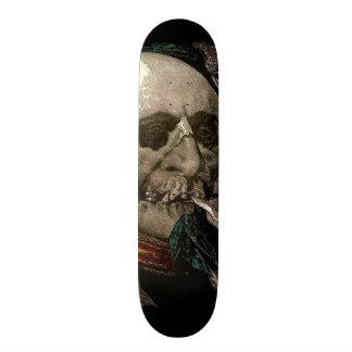 Pot Smoking Zombie Skull Skeleton Dude Wall Board