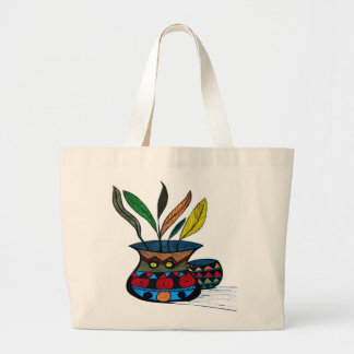 Pot Spirit Large Tote Bag