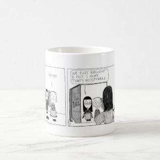 """""""Pot Un-Luck"""" Comic Strip Mug"""