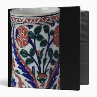Pot with a floral decoration, Iznik Binder