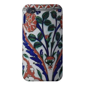 Pot with a floral decoration, Iznik Case For iPhone 4