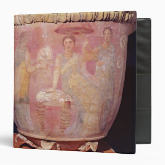 Pot with a scene of women bathing binder