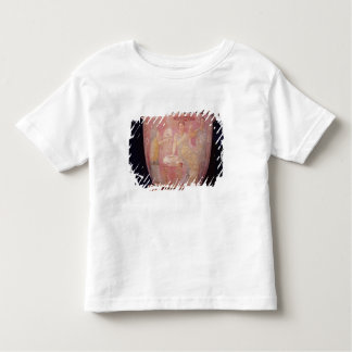 Pot with a scene of women bathing toddler t-shirt