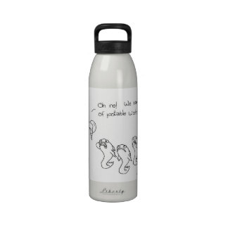 Potable water water bottle