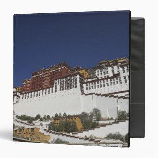 Potal Palace in Lhasa, Tibet. Binder