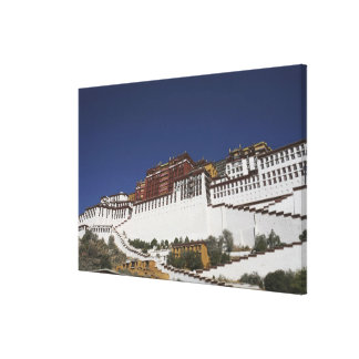 Potal Palace in Lhasa, Tibet. Canvas Print