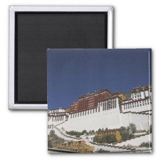 Potal Palace in Lhasa, Tibet. Magnet