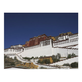 Potal Palace in Lhasa, Tibet. Postcard