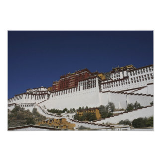 Potal Palace in Lhasa, Tibet. Poster