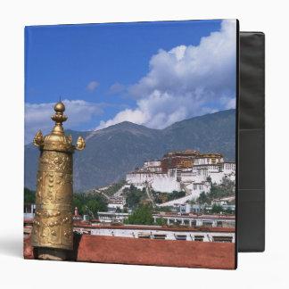 Potala Palace in Lhasa, Tibet taken from 3 Ring Binder