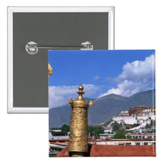 Potala Palace in Lhasa, Tibet taken from Buttons