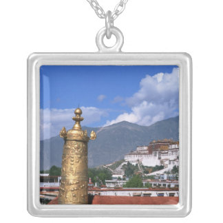 Potala Palace in Lhasa, Tibet taken from Silver Plated Necklace