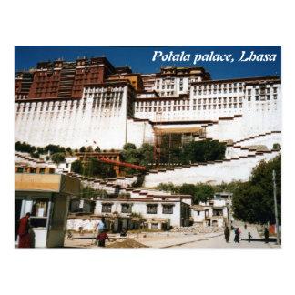 Potala Palace, Lhasa, postcard