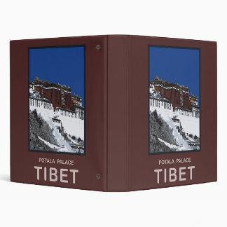 Potala Palace Lhasa Tibet Binder