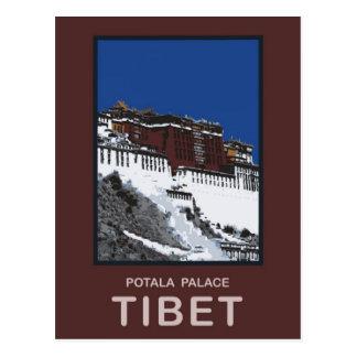 Potala Palace Lhasa Tibet Postcard