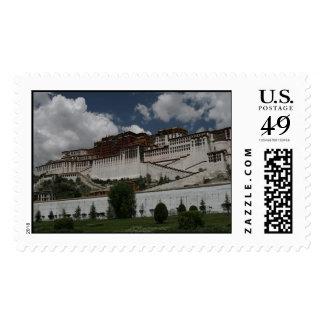 Potala Palace, Lhasa, Tibet: Stamps 4