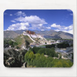 Potala Palace on mountain range from aher Mouse Pad