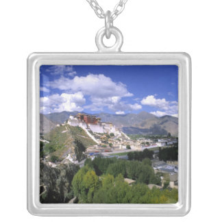 Potala Palace on mountain range from aher Pendant