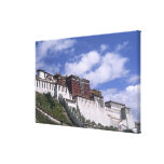 Potala Palace on mountain the home of the Dalai Canvas Print