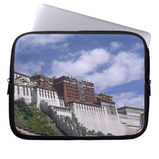 Potala Palace on mountain the home of the Dalai Computer Sleeve