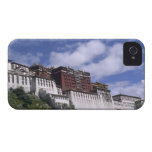 Potala Palace on mountain the home of the Dalai iPhone 4 Case-Mate Cases