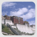 Potala Palace on mountain the home of the Dalai Stickers
