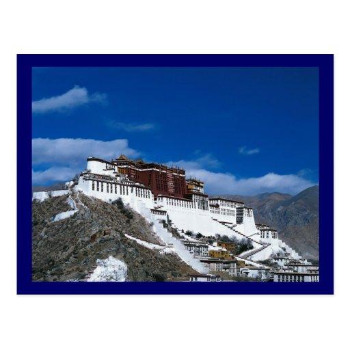 Potala Palace Tibet Postcard