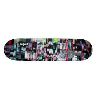 Potar Video Glicth 3 Skate Board Deck