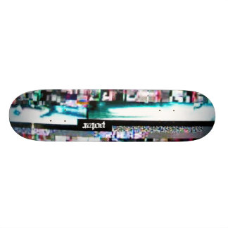 Potar Video Glitch 1 Skate Boards