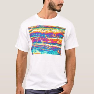Potassium hydroxide under a microscope T-Shirt