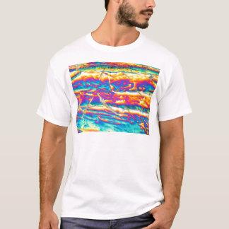 Potassium hydroxide under a microscope T-Shirt