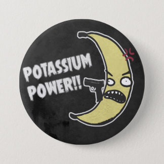 Potassium Power Pinback Button