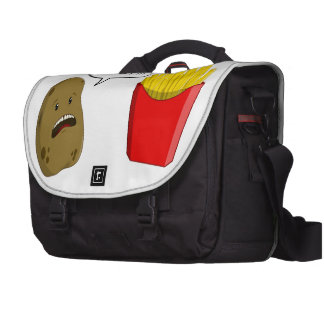 potato and fries commuter bag