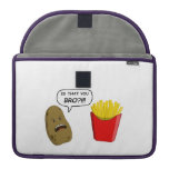 potato and fries MacBook pro sleeves