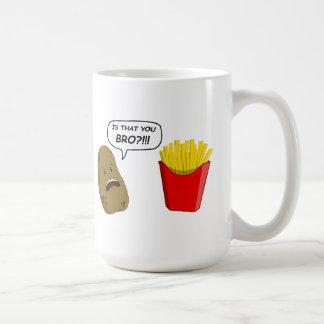 potato and fries mug
