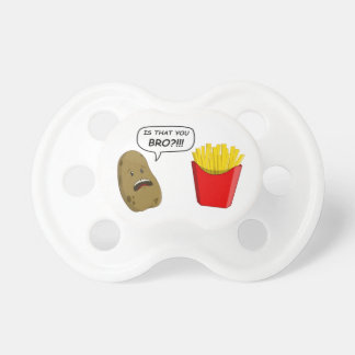 potato and fries pacifier