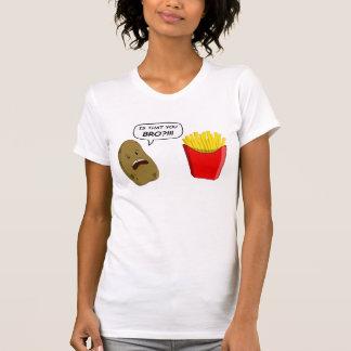 potato and fries shirt
