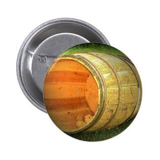Potato Barrel Pinback Button