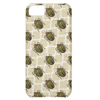 Potato Beetle Pattern Art iPhone 5C Cases