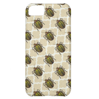 Potato Beetle Pattern Art iPhone 5C Cover