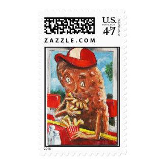 Potato Boy, Accidental Cannibal Postage Stamp