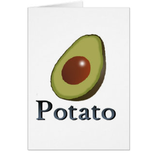 Potato Card