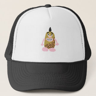 Potato cavemen trucker hat