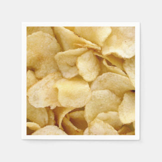 Potato Chip party napkins fun foodie party napkins