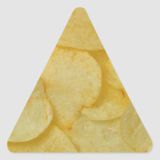 Potato Chip Triangle Sticker