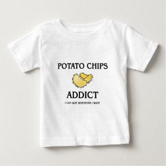 Potato Chips Addict Baby T-Shirt